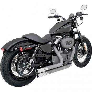 Harley Davidson  Iron Auspuffanlage Vance And Hines