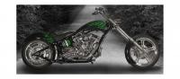 KRAFT TECH Frame Harley SOFTAIL STYLE wide tire FRAME Single