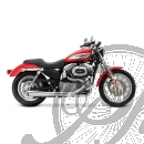 SUPERTRAPP 2-IN-1 SUPERMEGS AUPUFF HARLEY SPORTSTER 04-13